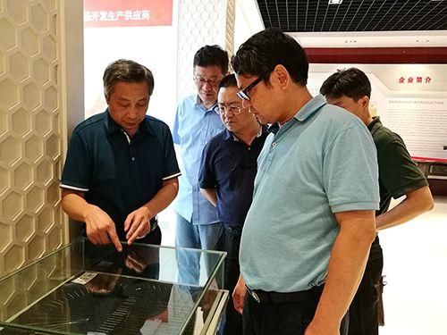 寶武集團寶鋼不銹鋼有限公司 副總經理何汝迎一行來我司參觀
